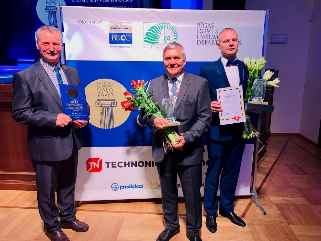 "ZTC 2nd place in ""Latvian Construction Year Award 2018"""