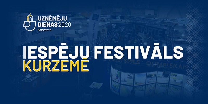 "A FESTIVAL OF OPPORTUNITIES ""BUSINESS DAYS IN KURZEME 2020"" INVITING TO LEARN ABOUT ACHIEVEMENTS OF THE REGION FACE-TO-FACE AND REMOTELY"
