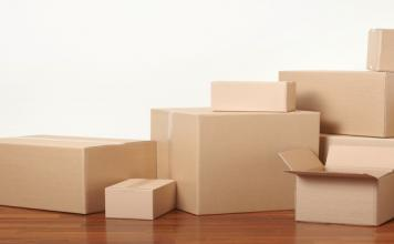 Corrugated fibreboard boxes (of various forms, types and sizes)